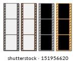 blank films negative | Shutterstock . vector #151956620