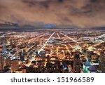 Chicago Urban Skyline Panorama...