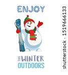 season motivation quote enjoy... | Shutterstock .eps vector #1519666133