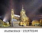 side view of st. vitus... | Shutterstock . vector #151970144