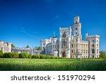 Bohemian Castle Hluboka Nad...