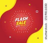 flash sale discount template...   Shutterstock .eps vector #1519811030