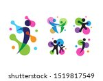 people care fun colorful... | Shutterstock .eps vector #1519817549