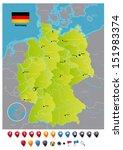 germany | Shutterstock .eps vector #151983374