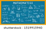 mathematics  geometry... | Shutterstock .eps vector #1519915940