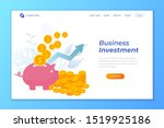 business landing page vector...