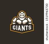 Giant Mascot Logo Illustration...