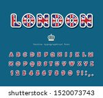 london font. british national... | Shutterstock .eps vector #1520073743