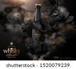 mysterious premium whisky ads... | Shutterstock .eps vector #1520079239