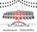 vector illustration of ravana... | Shutterstock .eps vector #1520139593