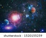 star field in deep space many... | Shutterstock . vector #1520155259