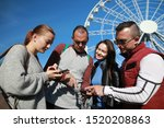 group of people happiness...   Shutterstock . vector #1520208863