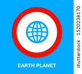 globe icon  earth planet  ... | Shutterstock .eps vector #1520238170