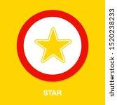 vector star symbol  rating or... | Shutterstock .eps vector #1520238233