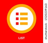 list icon   content view... | Shutterstock .eps vector #1520239163