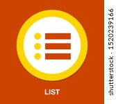 list icon   content view... | Shutterstock .eps vector #1520239166