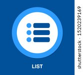 list icon   content view... | Shutterstock .eps vector #1520239169