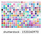 set of gradient colors. modern  ...