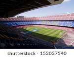 Постер, плакат: View of Camp Nou
