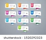 infographics design vector... | Shutterstock .eps vector #1520292323