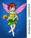 flower fairy | Shutterstock .eps vector #152030510