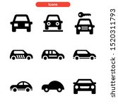 car icon isolated sign symbol... | Shutterstock .eps vector #1520311793