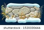 stone board decoration... | Shutterstock .eps vector #1520330666