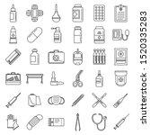 emergency medicine icons set....   Shutterstock .eps vector #1520335283