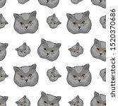vector illustration face of ... | Shutterstock .eps vector #1520370686