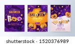 halloween party invitations ... | Shutterstock .eps vector #1520376989