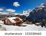 snow in swiss   Shutterstock . vector #152038460