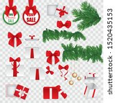 Set Of Various Christmas And...