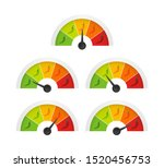 hot red pepper strength scale... | Shutterstock .eps vector #1520456753