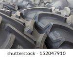 big machines tires stack... | Shutterstock . vector #152047910