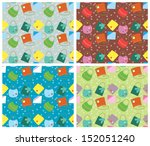 color seamless pattern.vector... | Shutterstock .eps vector #152051240
