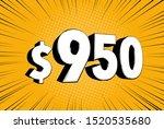 950  nine hundred fifty price... | Shutterstock .eps vector #1520535680