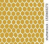 Honey Comb Hand Drawn Seamless...