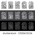 abstract wave line art... | Shutterstock .eps vector #1520615126