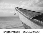 An Old Boat Looking At The...