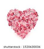 vector illustration of leaf... | Shutterstock .eps vector #1520630036