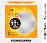 abstract template post for... | Shutterstock .eps vector #1520630666