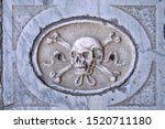 Classical Skull With Crossed...