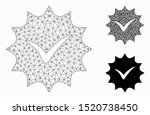 mesh warranty tag model with...   Shutterstock .eps vector #1520738450