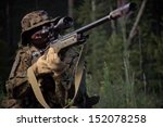 sniper attack the enemy from a... | Shutterstock . vector #152078258