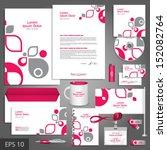 white corporate identity... | Shutterstock .eps vector #152082764