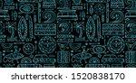 surfing seamless pattern.... | Shutterstock .eps vector #1520838170