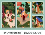 autumn season design  vector... | Shutterstock .eps vector #1520842706