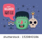 Halloween Party Card Design ...