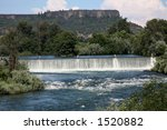 Gold Ray Dam In Foreground With ...