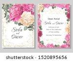 vector template for wedding...   Shutterstock .eps vector #1520895656
